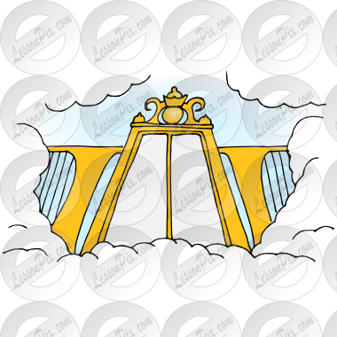 clip free Picture for classroom therapy. Heaven clipart