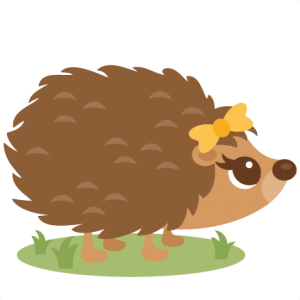 vector transparent stock Girl svg my miss. Hedgehog clipart
