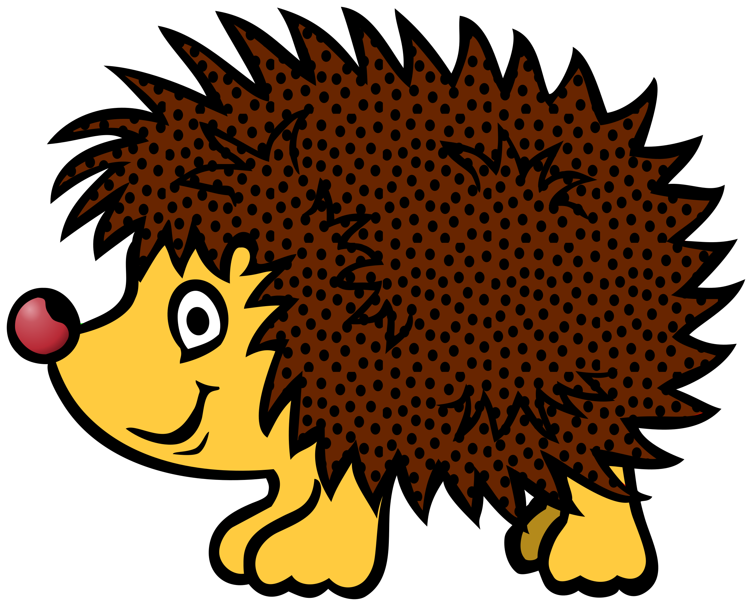graphic freeuse download Hedgehog clipart. Clip art the cliparts
