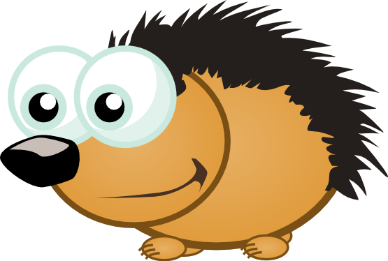 vector library download Hedgehog clipart. Panda free images clip