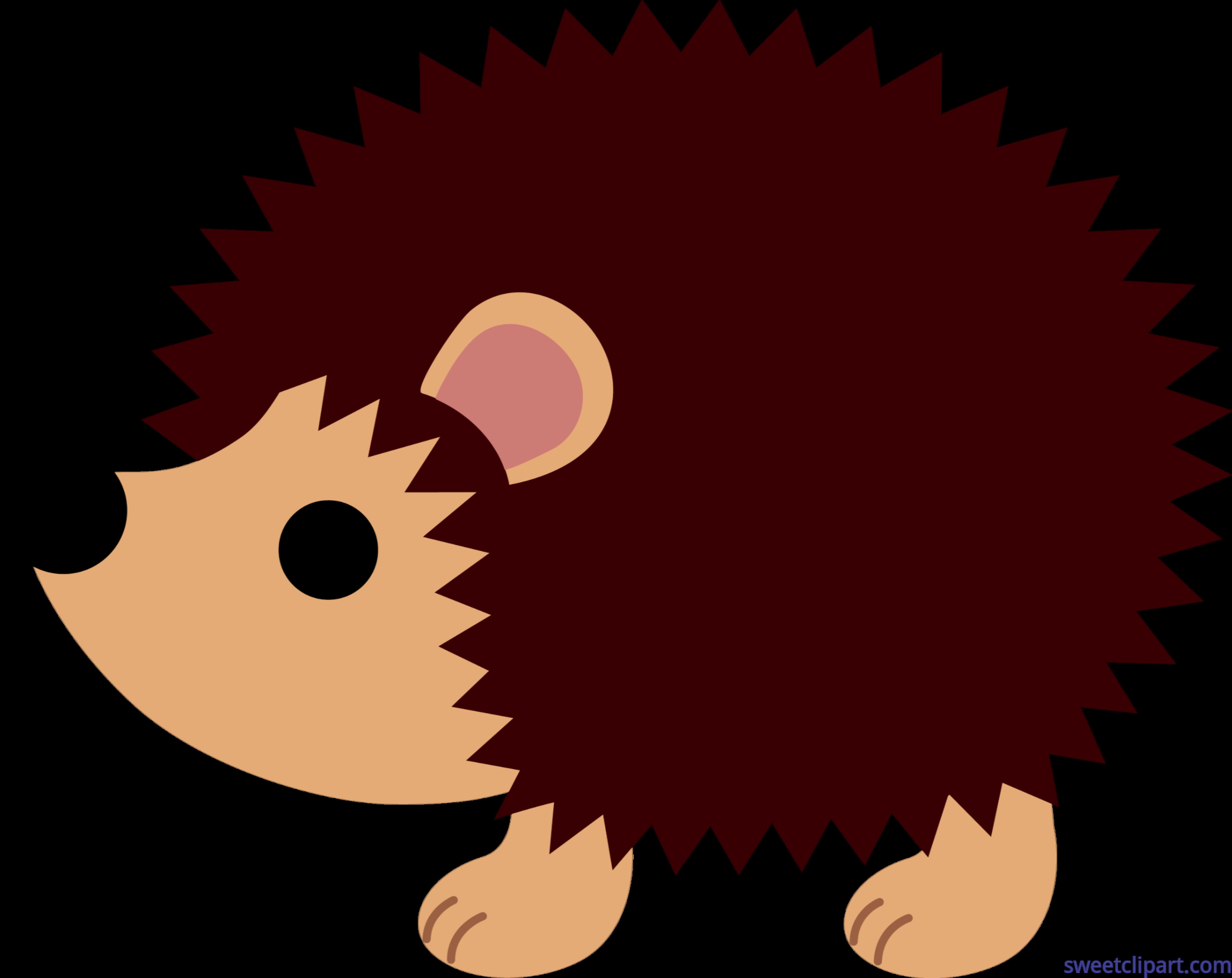 png transparent download Cute clip art sweet. Hedgehog clipart.