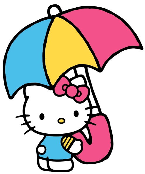 clipart freeuse stock Hello clipart. Kitty clip art cartoon