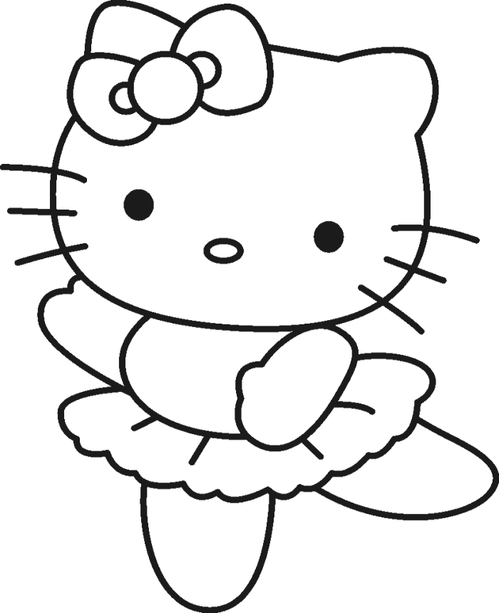 png freeuse download Hello kitty clipart black and white. Was wearing a cute