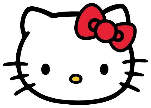 image free here is the Hello Kitty Head ClipArt