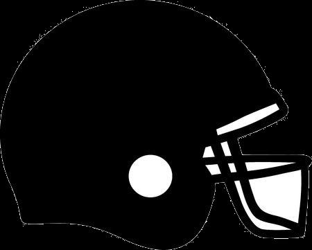 clipart stock Helmet clipart. Football black and white