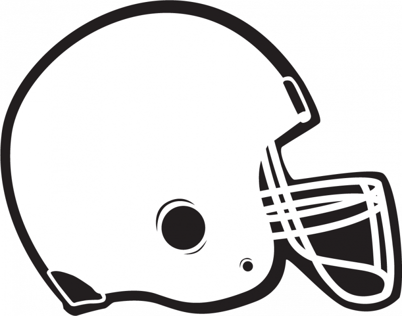 vector royalty free library Black and white sport clipart. Football clip art free