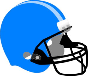 graphic free Helmet clipart. Blue and gold football