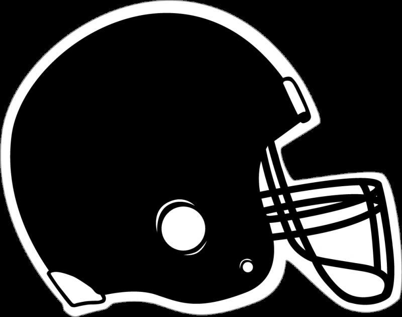 clip art royalty free download Black Football Helmet Clipart