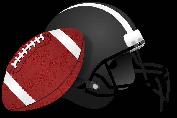 jpg Image of football free. Helmet clipart plain