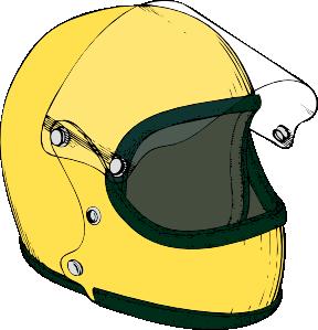 clip library download Crash Helmet Clip Art at Clker
