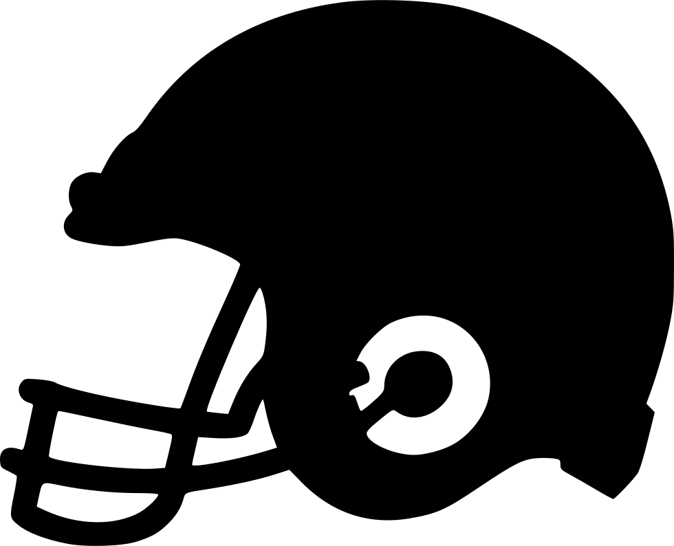 clip black and white Rugby Helmet Svg Png Icon Free Download