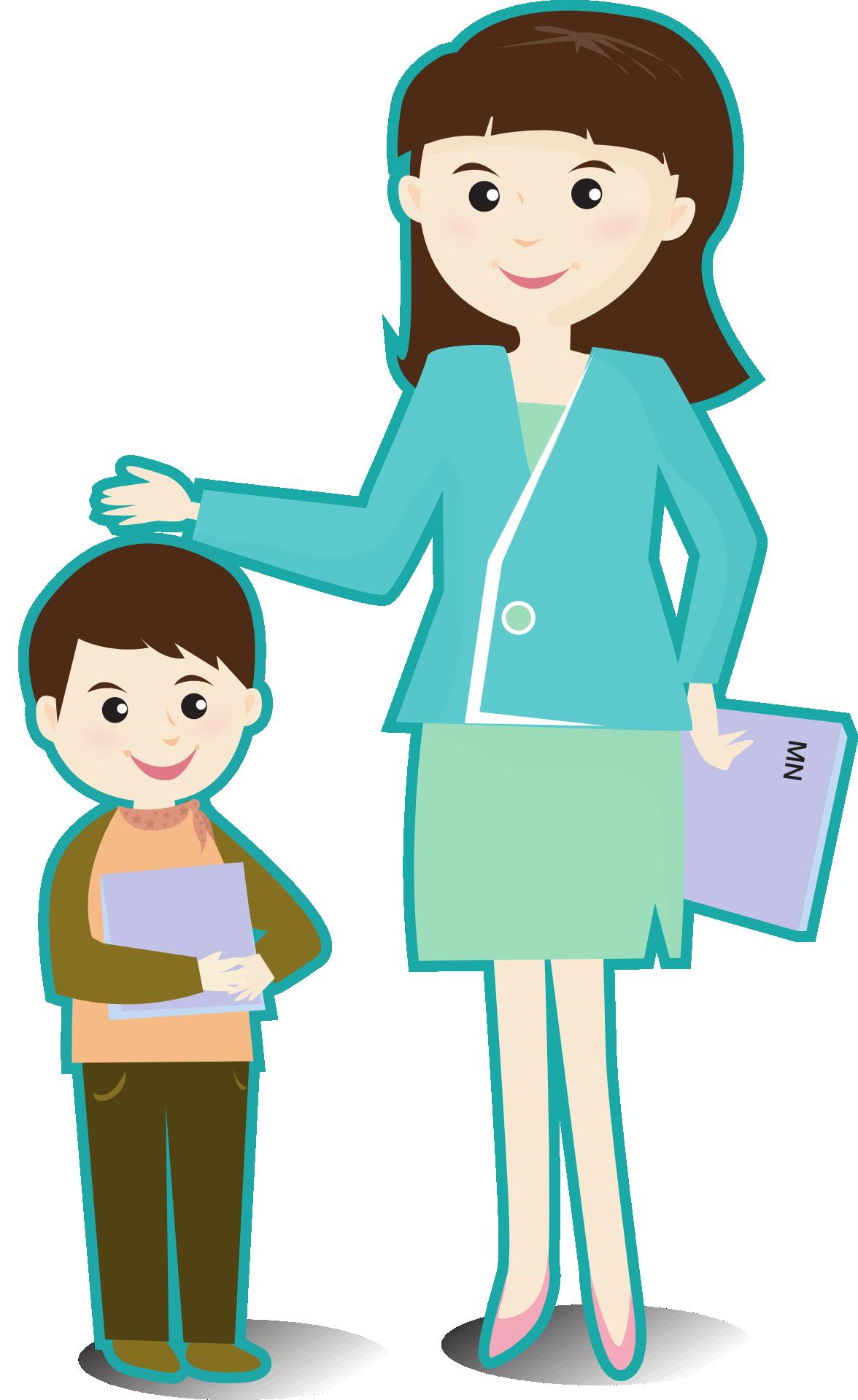 vector download Teacher helping student adamsmanor. Teachers and students clipart