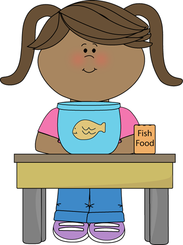 clip art black and white library Girl Classroom Pet Helper