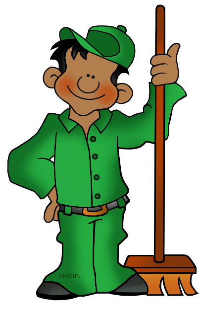 jpg royalty free library Custodian Clipart