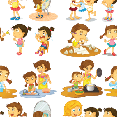 clip freeuse Helping clipart. Seamless kids the arts.