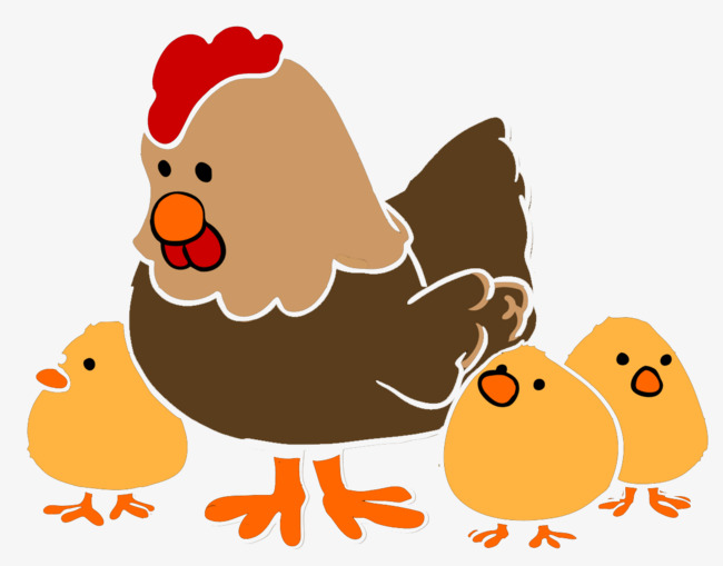clipart free library Hen and chicks clipart. Portal .