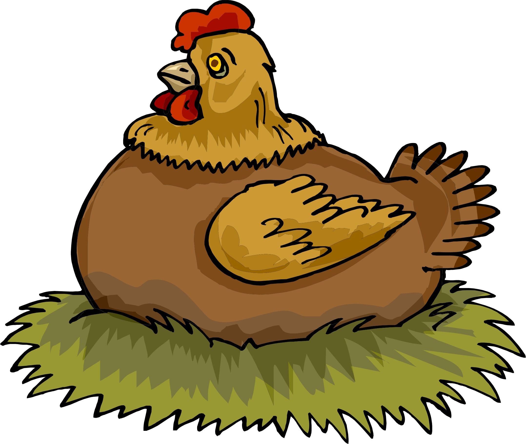 banner royalty free stock Hen clipart. On nest preschool nursery