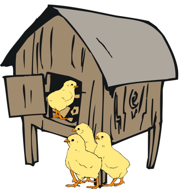 png free library hen house clipart #64776462