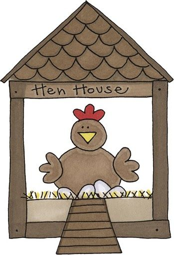clip royalty free stock Woodworking projects plans chicken. Hen house clipart.