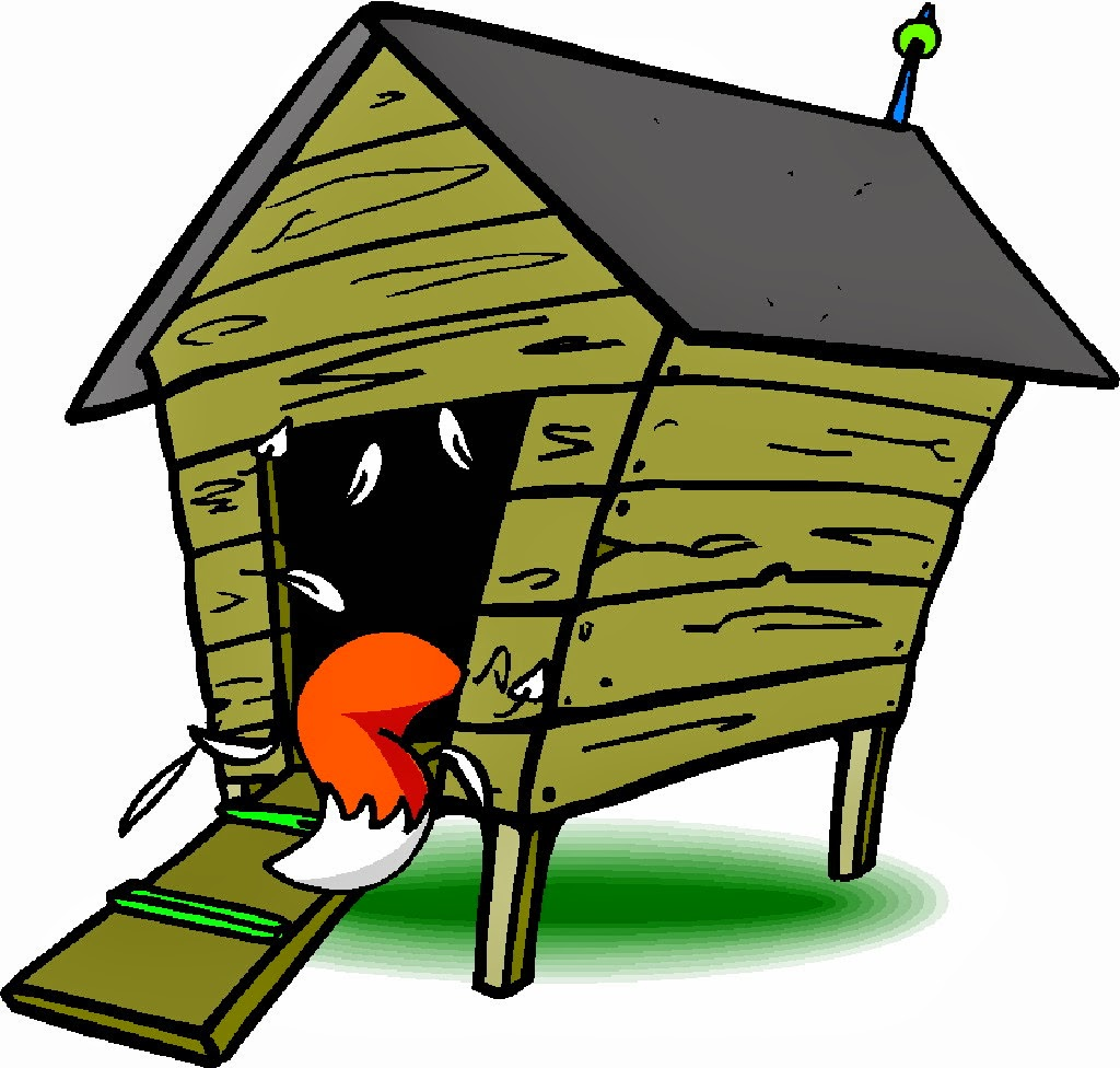 clipart freeuse Hen house clipart. Free chicken cliparts download.