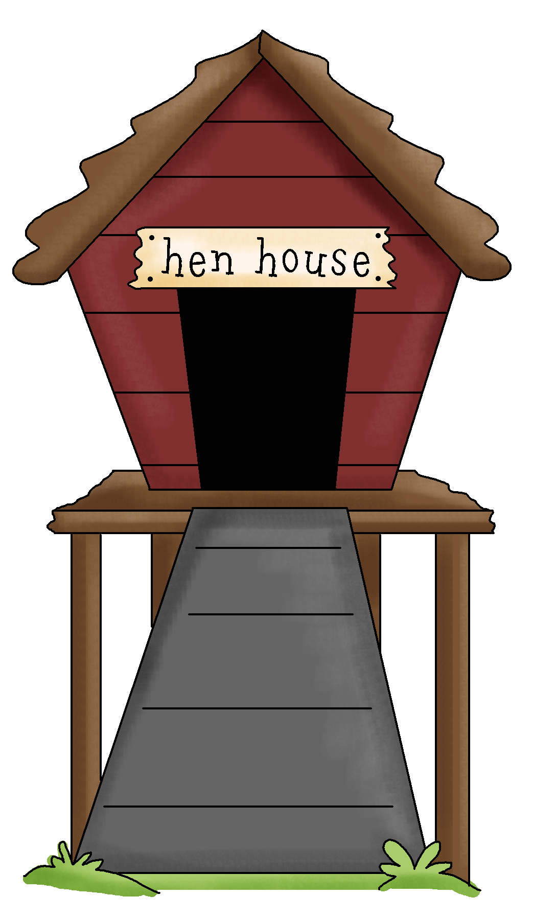 picture freeuse download Hen house clipart. Collection of free henhouses.