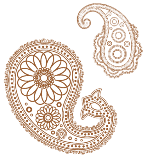 png black and white stock henna vector decoration indian #97648553