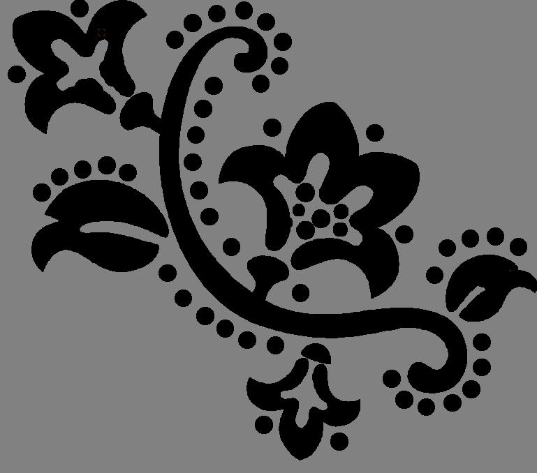 clip download henna vector design #97639439