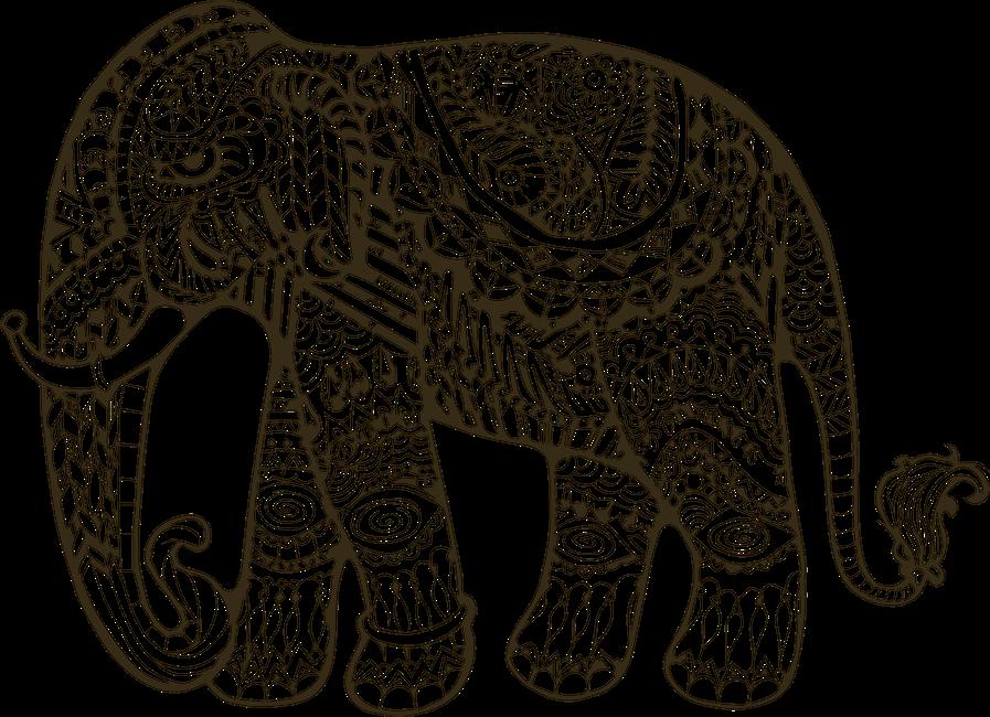 jpg Elephant Indian Drawing at GetDrawings
