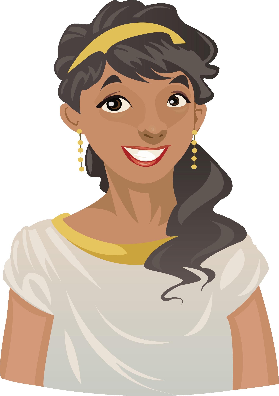 clip free Hera Cartoon Greek mythology Illustration
