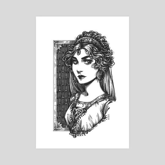 png royalty free library Hera Goddess by Maria Dimova