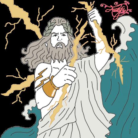 clip art Jupiter Roman God