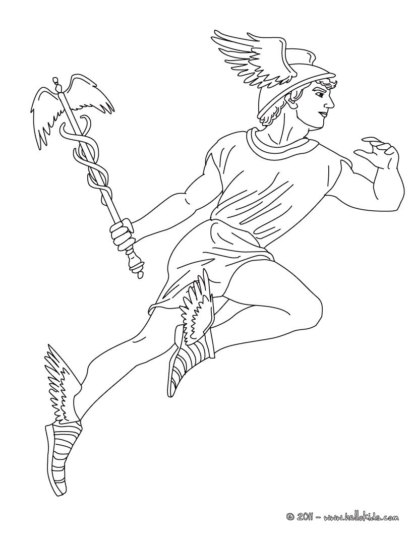 graphic black and white stock Hermes drawing. At paintingvalley com explore