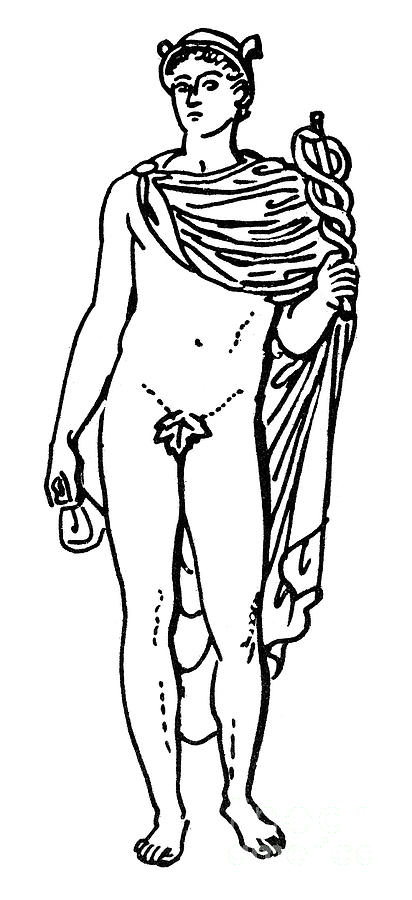 png library Mercury . Hermes drawing