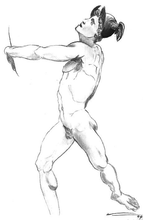 picture library Hermes drawing.