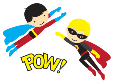 graphic free library Free hero cliparts download. Kid superhero clipart