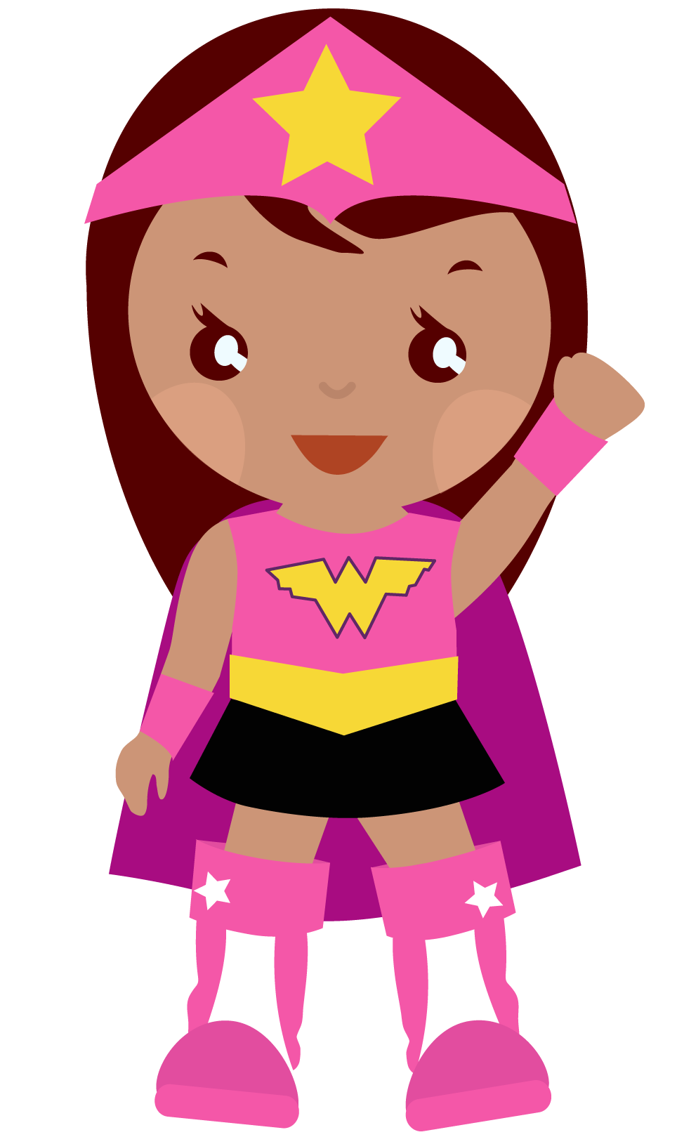 banner free You can use supergirl. Superheroes clipart.