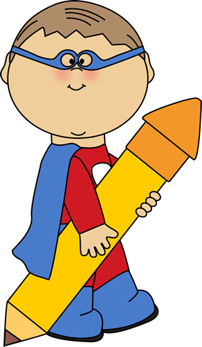 banner royalty free download Cute super hero clip. Math clipart superhero.