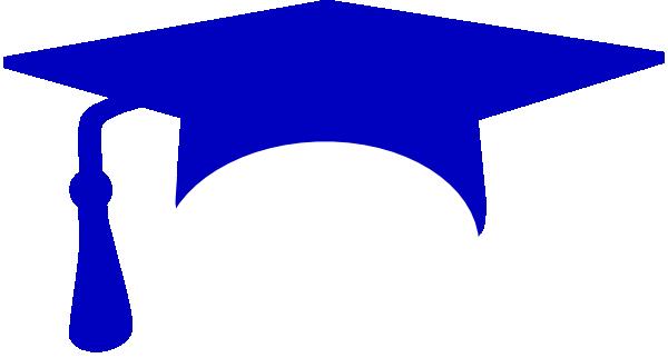 image royalty free library blue graduation cap clipart royal blue graduation cap