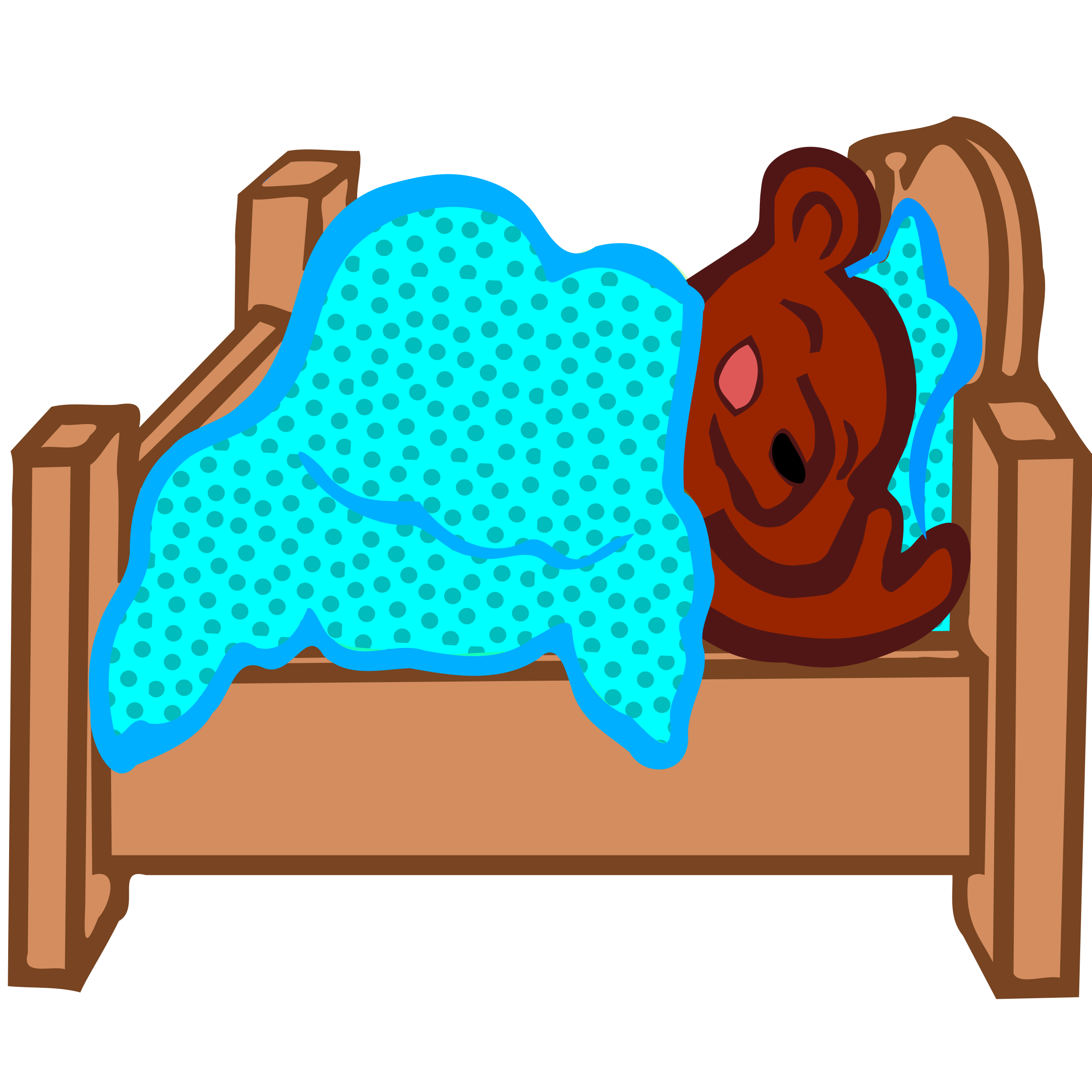 clipart freeuse Coloured big image png. Hibernating bear clipart