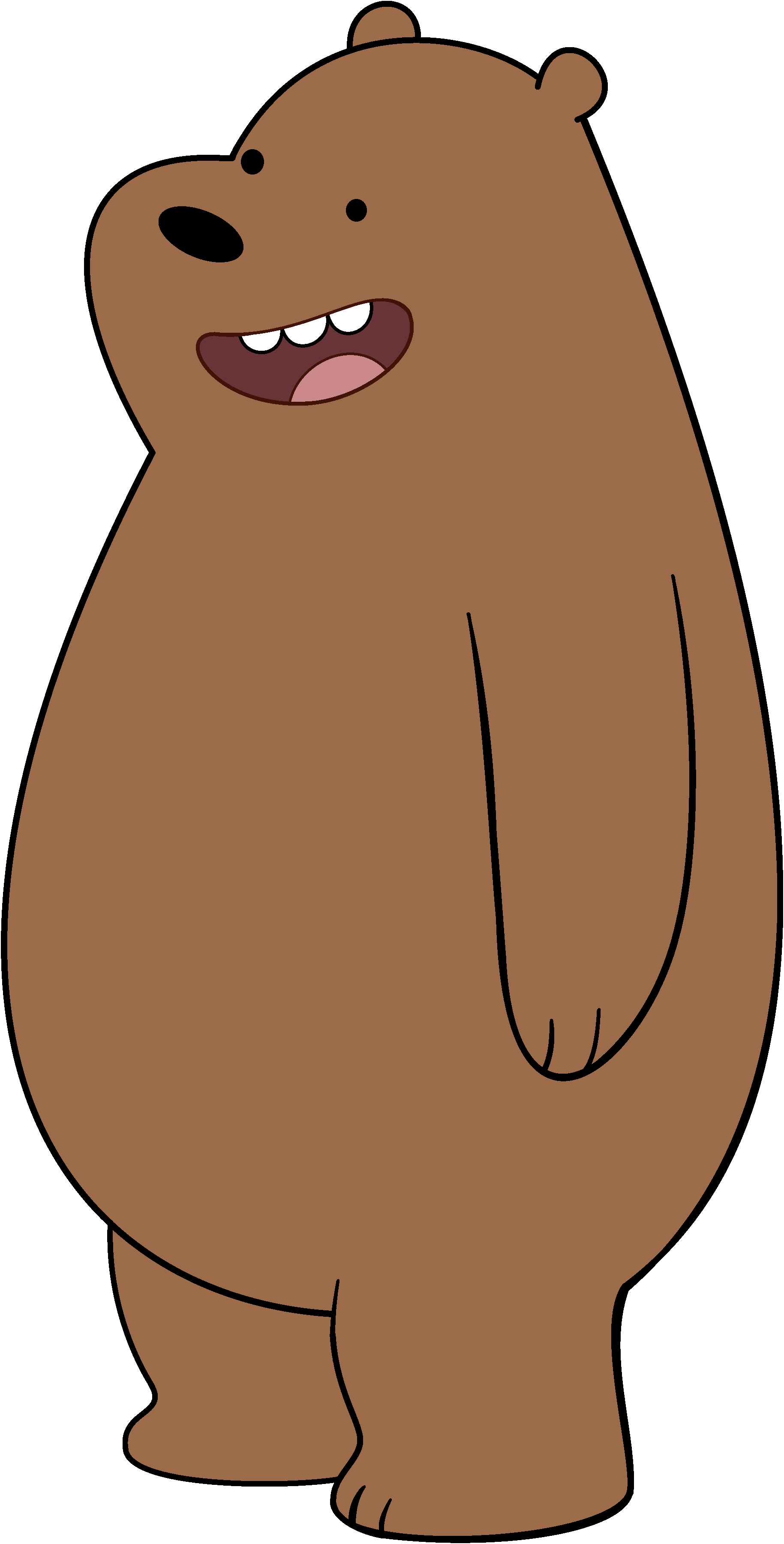 vector freeuse library Grizzly canon we bare. Hibernating bear clipart