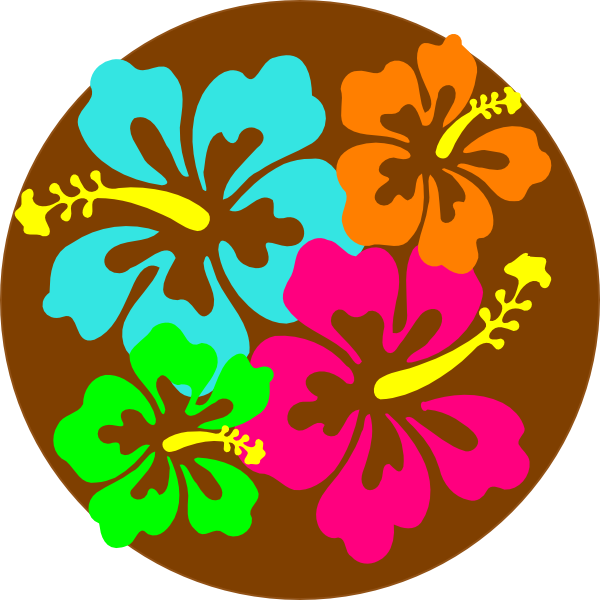 clip freeuse library Luau clipart and borders. Hibiscus clip art at.