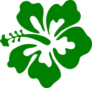 vector library stock Green clip art at. Hibiscus clipart.