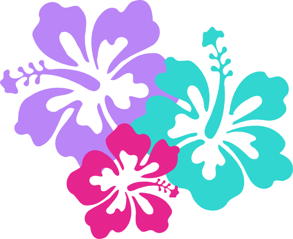 vector free download Hawaiian Flower Clip Art