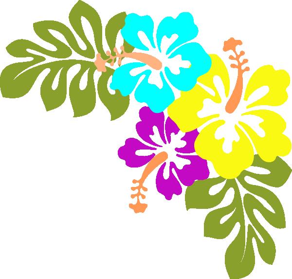 clip art Hawaiian Flower Clip Art