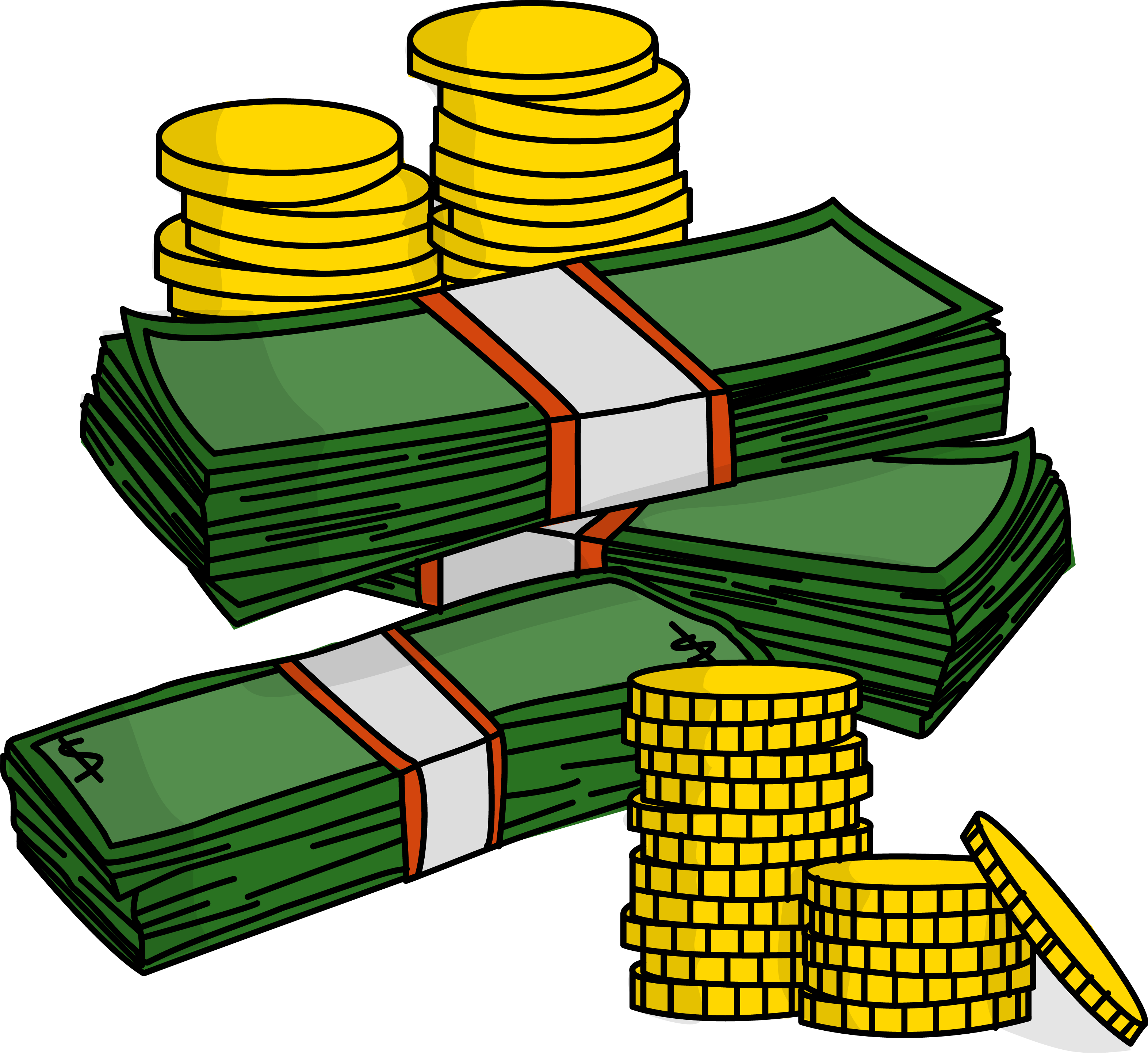picture download Free clip art pictures. A lot of money clipart.