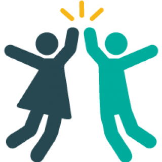 clip library stock High five clipart.  collection of png