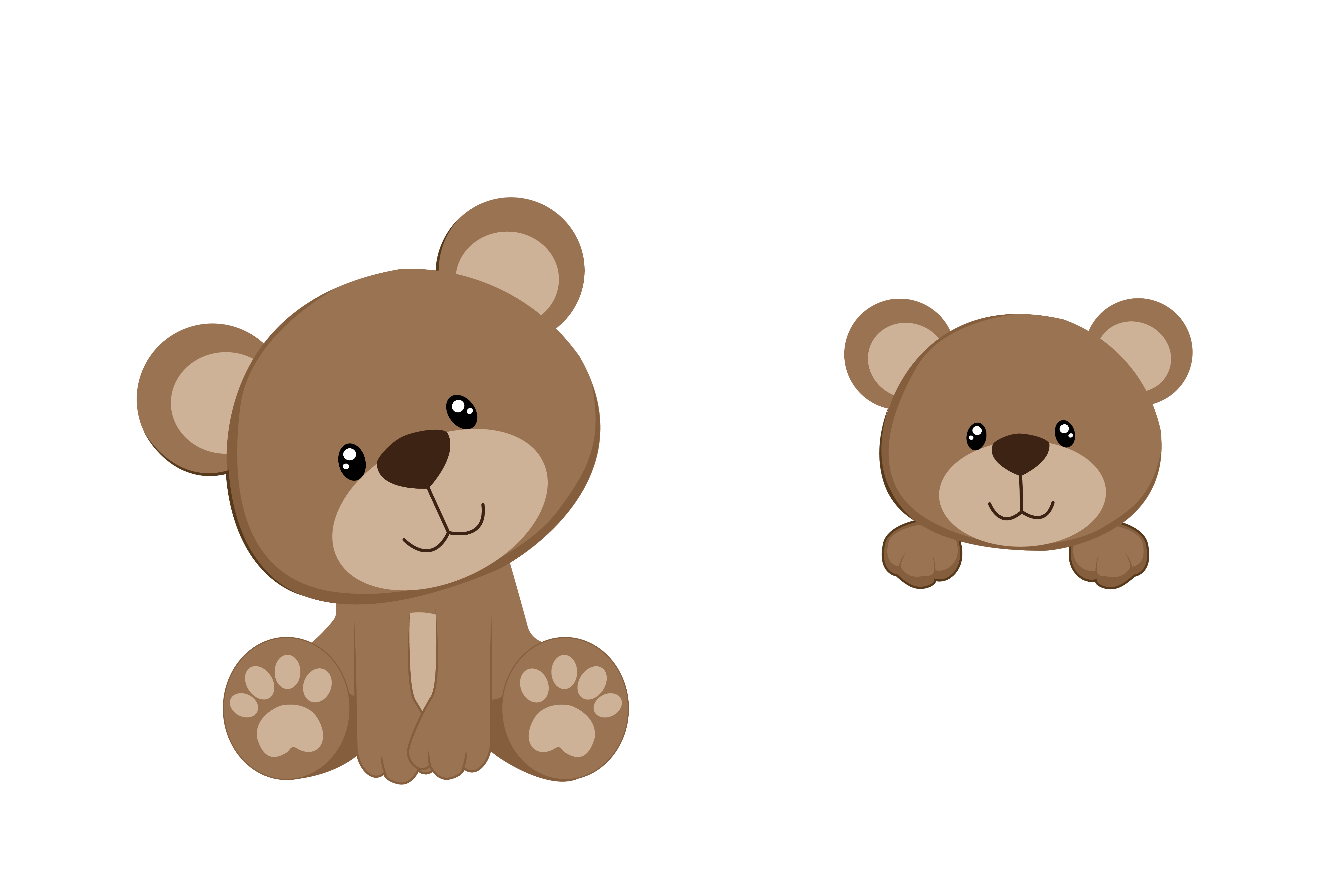 stock Bear Family Clipart at GetDrawings