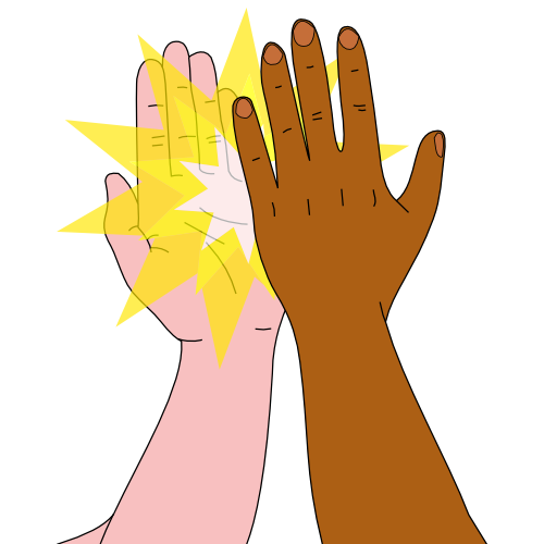 png transparent download High five clipart. Creative wallpaper stock.