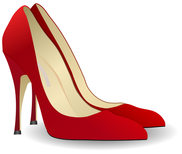 clip royalty free Heels panda free images. High heel clipart.
