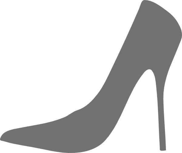 clip royalty free library High heel clipart. Shoe silhouette clip art.